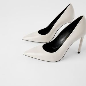 HIGH HEELED LEATHER SHOES